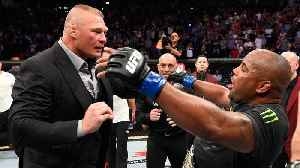 News video: Is UFC Using WWE Antics to Promote Lesnar vs. Cormier?