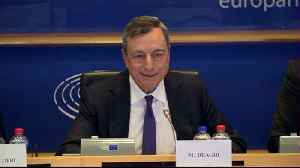 Draghi Says Protectionism Is Main Risk to Economy [Video]