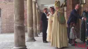 Prince Louis Is Officially Christened [Video]