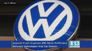 Appeals Court Upholds Judge's Decision In $10B Volkswagen Emissions Deal [Video]