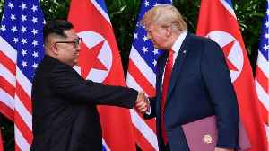 News video: Trump Says China May Be Derailing U.S.-North Korea Talks