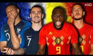News video: LIVE: FRANCE 1 v 0 BELGIUM | FRANCE ARE IN THE WORLD CUP FINAL!! | #TheFootballSocial