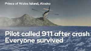 News video: Plane carrying 11 people crashes in Alaska