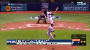 Daniel Robertson's RBI single in 10th inning lifts Tampa Bay Rays over Detroit Tigers 10-9 [Video]