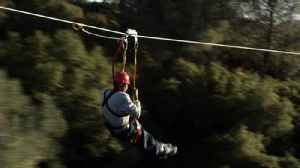 Couple on honeymoon cruise involved in zip-line accident that left one dead [Video]