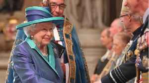 Queen Elizabeth celebrates 100 years Of The Royal Air Force [Video]