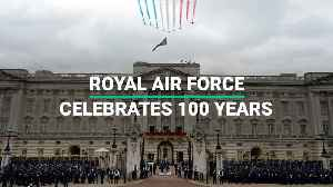 RAF Celebrates Centenary With Massive Flypast Over London [Video]