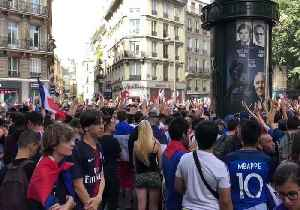 News video: France Fans Practice Thunderclap Ahead of World Cup Semi-Final