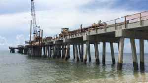 Pompano Beach's new pier construction halfway done [Video]