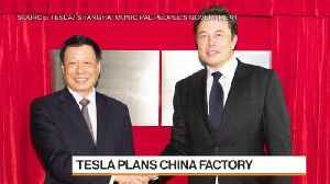 News video: Tesla's China Timeline Isn't Feasible, Auto Analyst Albertine Says