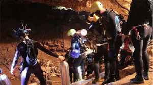 Soccer Team Rescued From Cave In Thailand [Video]