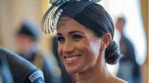 Meghan Markle Sports Low Ponytail For Prince Louis's Christening [Video]