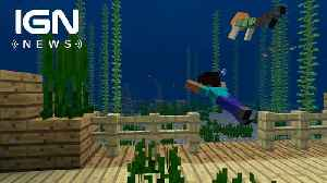 Minecraft Launches Aquatic Phase Two Update [Video]