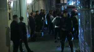 France return to hotel after Belgium victory [Video]
