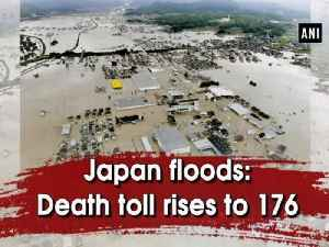 Japan floods: Death toll rises to 176 [Video]