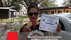 Valley Produces State Gold Medalist Powerlifter [Video]