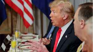 News video: Trump Calls Out Germany, Tells Allies To Double Defense Spending