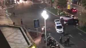Police Pepper Spray Football Fans in Nice Following Fireworks 'Stampede' [Video]