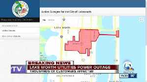 Power outage reported in Lake Worth [Video]