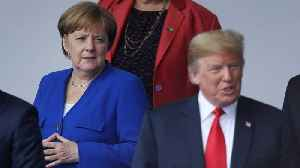 News video: Trump Accuses Germany Of Being 'Totally Controlled' By Russia