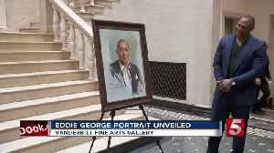 Eddie George Portrait Unveiled At Vanderbilt Fine Arts Gallery [Video]