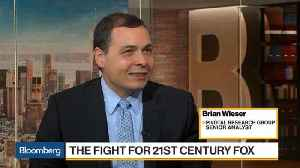 Fox, Comcast Pursuit of Sky 'Like a Game of Chicken,' Says Wieser [Video]