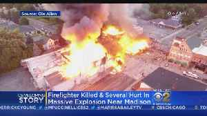 News video: Firefighter Dies In Gas Explosion, Fire In Wisconsin