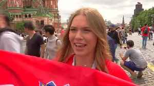 News video: England and Croatia fans brace for big match