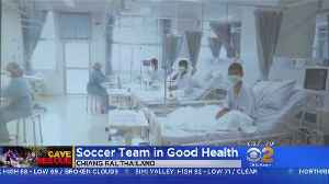 New Video: Thai Soccer Team Recovers In Hospital [Video]