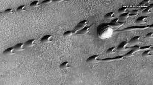 News video: Scientists Discover Hundreds of 'Ghost Dunes' on Mars