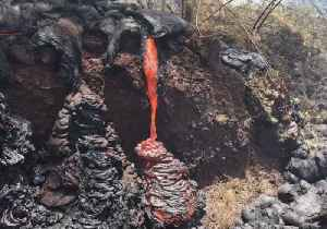 Lava Oozes From 'Fresh Breakout' in Pahoa, USGS Says [Video]
