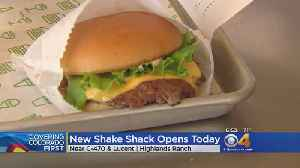 Shake Shack Opens Location In Highlands Ranch [Video]