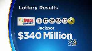 Mega Millions Jackpot Grows To $340 Million [Video]