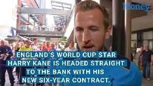 Harry Kane Is Headed Straight to the Bank With His New Contract [Video]