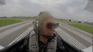 Web Extra: Aging Vets Ride In Open-Air Cockpit [Video]