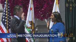 News video: London Breed Inaugurated As San Francisco's New Mayor