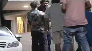 Sachin Tendulkar with Wife spotted at Movie Screening [Video]