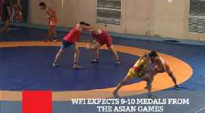 WFI Expects 9-10 Medals From The Asian Games [Video]