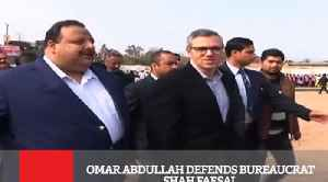 Omar Abdullah Defends Bureaucrat Shah Faesal [Video]