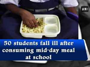 50 students fall ill after consuming mid-day meal at school [Video]