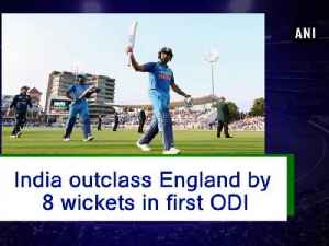 India outclass England by 8 wickets in first ODI [Video]