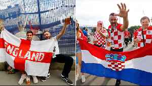 Fans Eagerly Wait For Croatia vs England [Video]