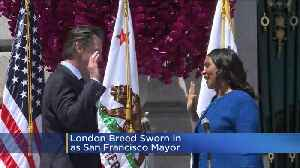 London Breed To Be Sworn In As New San Francisco Mayor [Video]