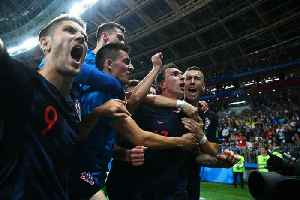 News video: Croatia Stuns England to Reach World Cup Final
