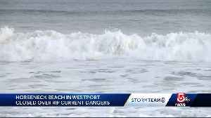 Dangerous rip currents expected as Hurricane Chris moves offshore [Video]