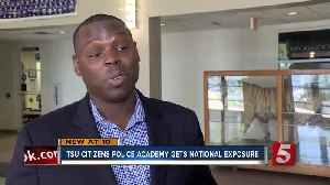 TSU Citizens Police Academy Nationally Honored [Video]
