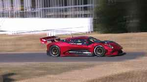 Brabham BT62 World Dynamic debut at FOS [Video]