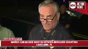 Officer shoots armed carjacker in Lakeland | 5AM Press Conference [Video]