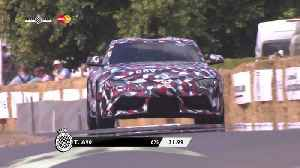 New Toyota Supra makes world debut at FOS [Video]