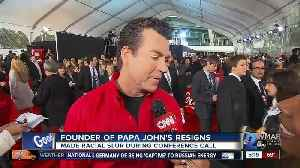 Papa John's says founder resigns as chairman of the board [Video]
